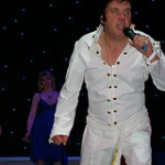 Elvis sings for cancer @Yorkshire Cancer Center